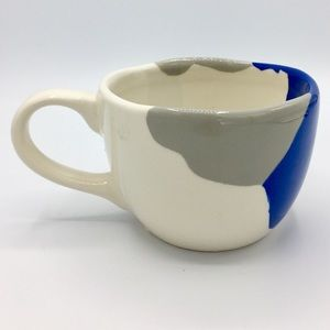 West Elm Organic Shaped Porcelain Mug